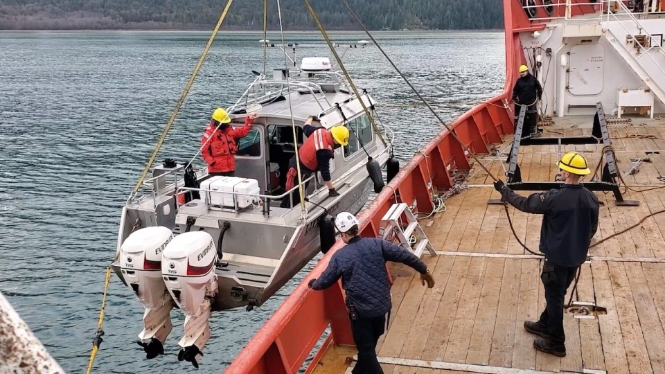 Bute Inlet research