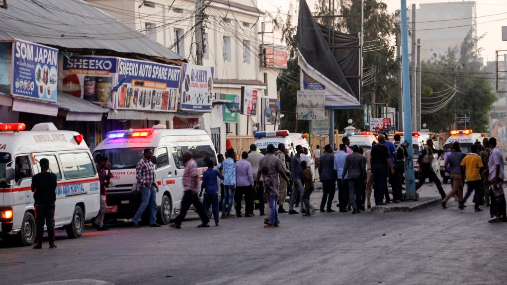 Article image At least three dead in Shabaab attack on Mogadishu hotel