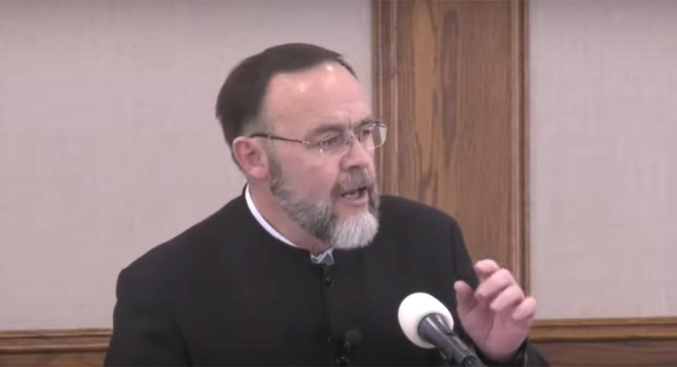 Pastor Henry Hildebrandt