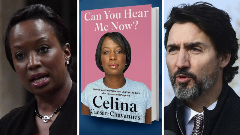 Former Liberal MP Celina Caesar-Chavannes has written a book about her time on Parliament Hill.