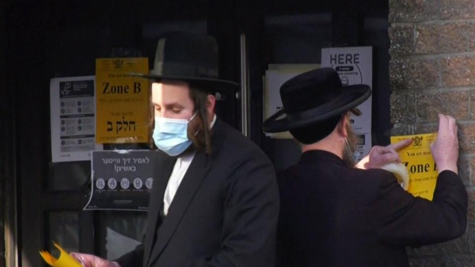 Hasidic community seeks injunction on gatherings