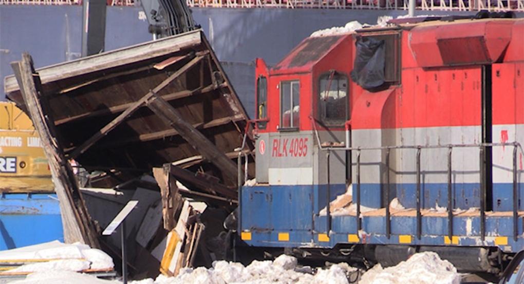 Goderich train derailment