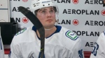 Canucks rookie stands out