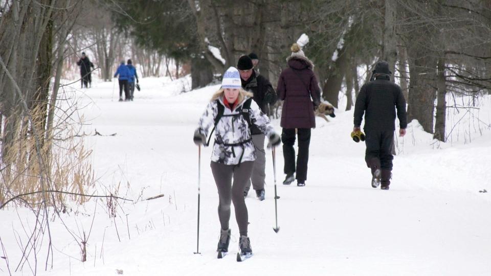 The Ski Heritage East trail