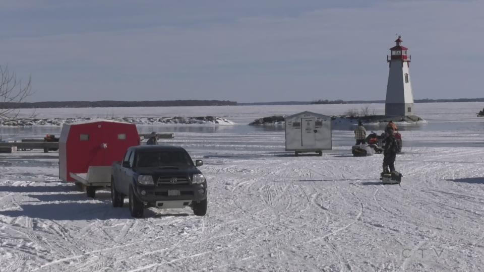 Lake Simcoe ice conditions