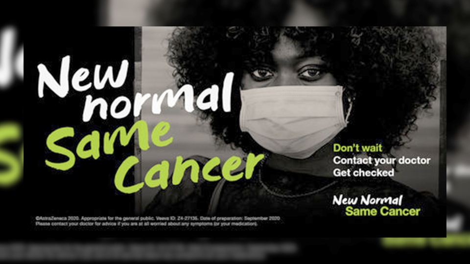 New Normal, Same Cancer campaign