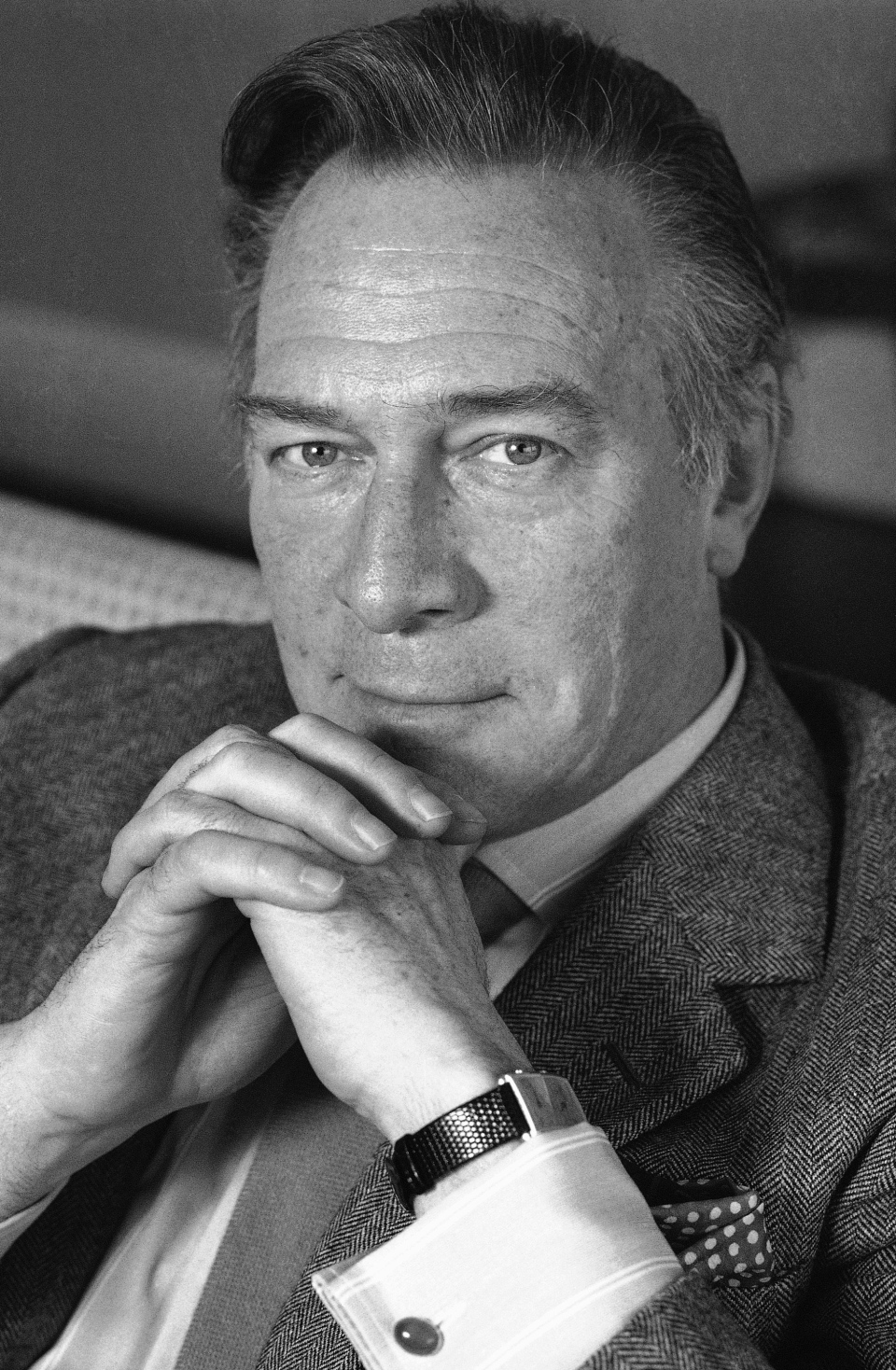 Christopher Plummer, shown May 30, 1988, stars in