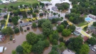 Flooding in Harriston, Ont. in June of 2017. (Source: Town of Minto)