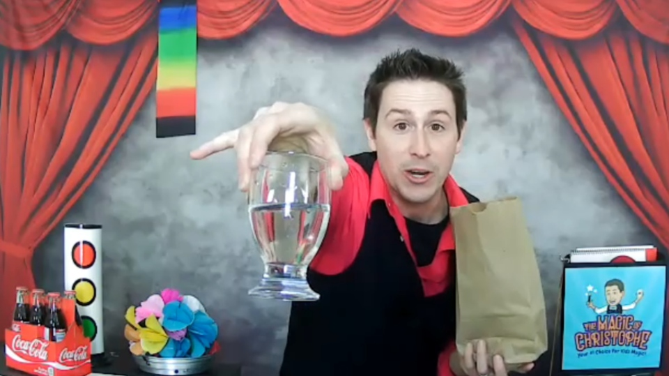 Chris Farquhar is a North Bay-based magician