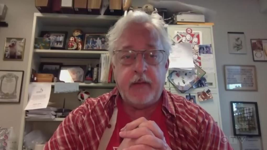 Western University professor Greg Kelly