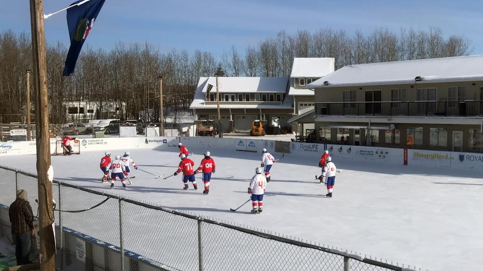 World's Longest Hockey Game