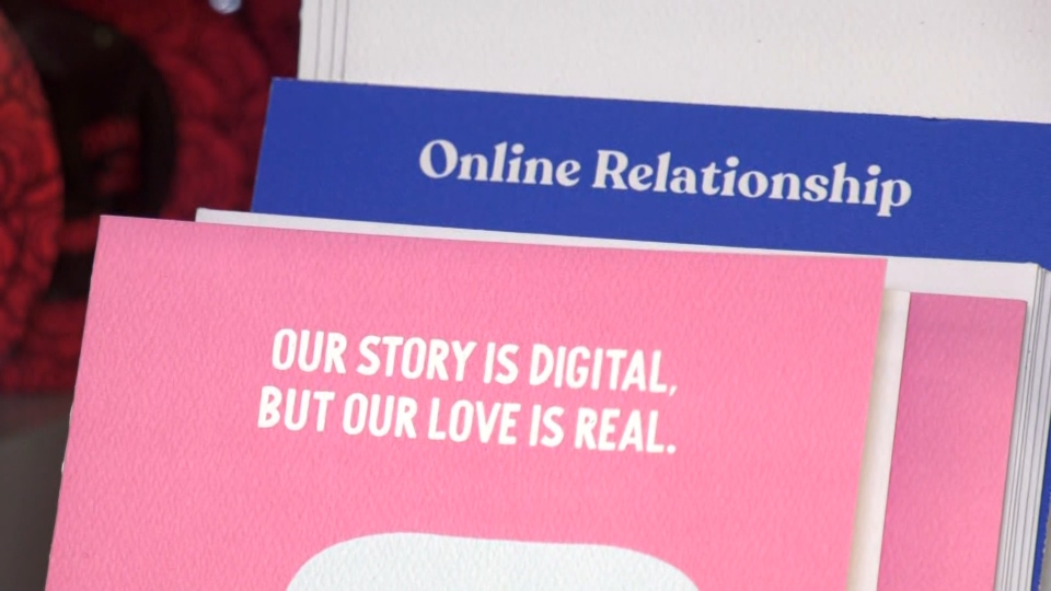 """""""Our story is digital but our love is real."""""""