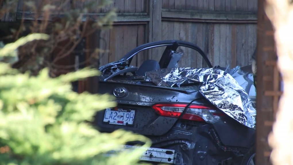 Crash in New Westminster
