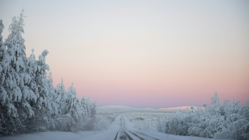 Salla is located in Lapland in far north Finland. (AFP)