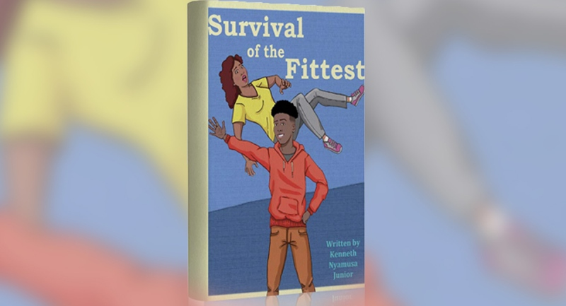 The cover of Survival of the Fittest by Kenneth Nyamusa Junior.