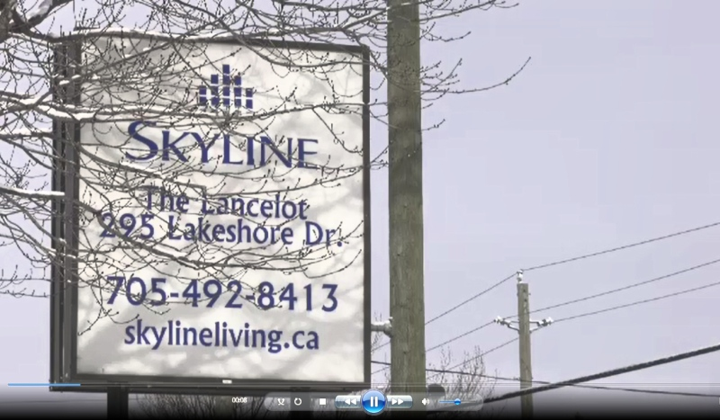 A third person has died as a result of the COVID-19 outbreak at the Skyline-Lancelot Apartments in North Bay. (File)