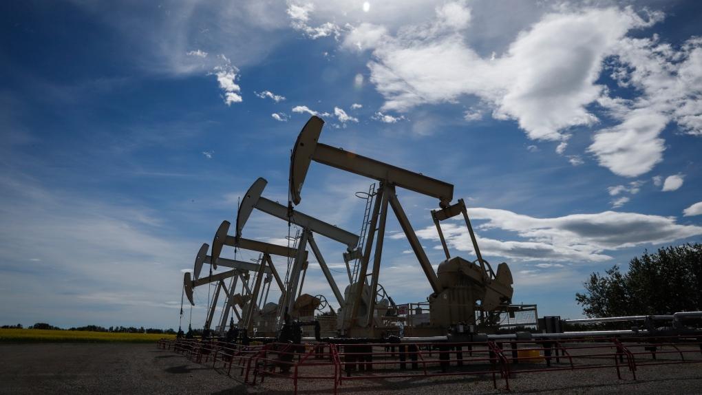 pumpjacks, Alberta, Olds, oil