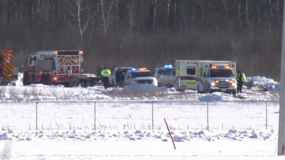 Plane crash in Carp