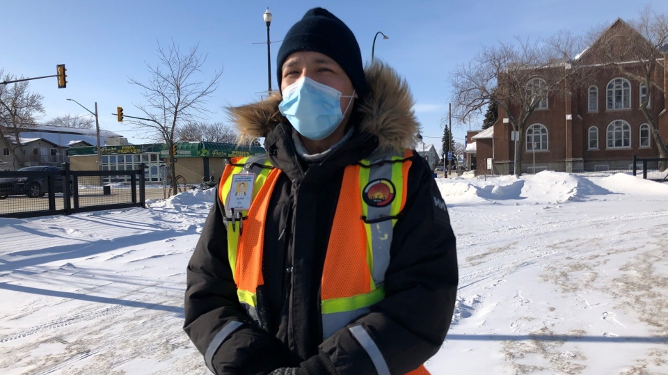 Delano Kennedy, executive director of the Okihtcitawak Patrol Group. (Francois Biber/CTV Saskatoon)