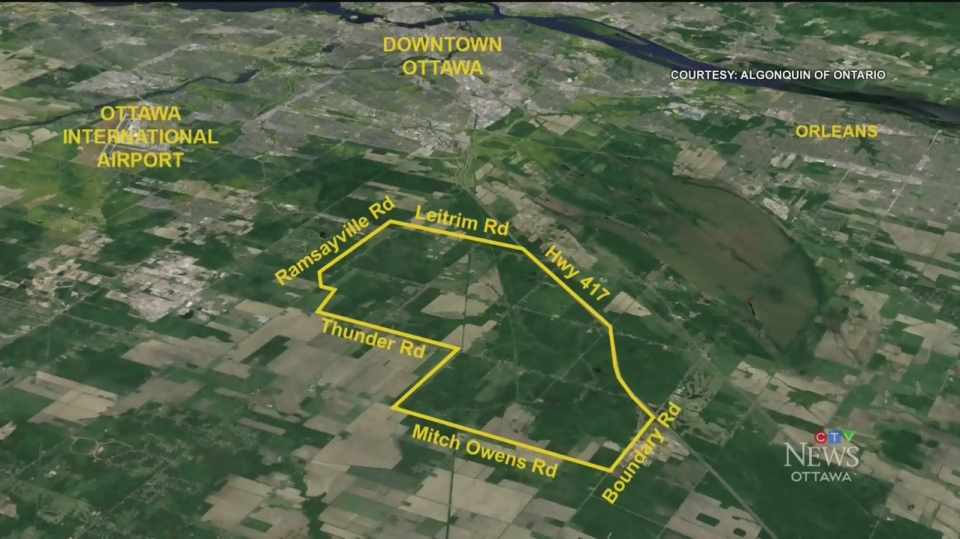 Ottawa's Tewin project faces opposition