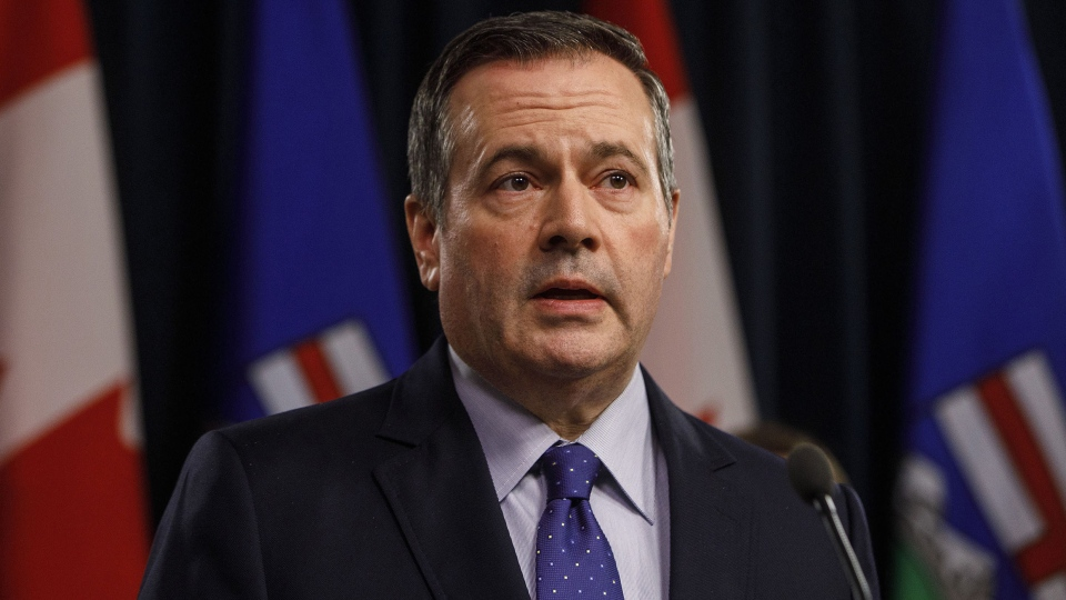 Premier Jason Kenney says despite a recent rise in energy prices, Alberta's budget will be a tough one this week. (File photo)