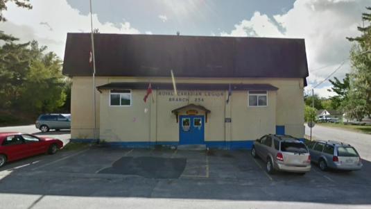 Royal Canadian Legion Branch 44 in Mattawa, Ont.