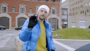 Toronto real estate agent Arty Basinski has created quirky music videos for some of his listings.