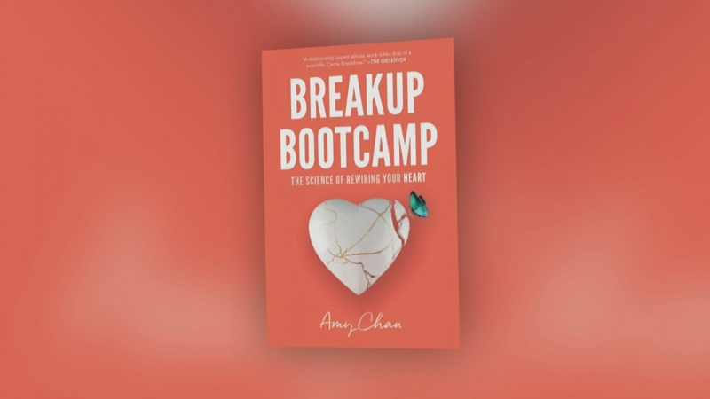 Amy Chan's new book, 'Breakup Bootcamp: The Science of Rewiring Your Heart,' offers tips on how to get over a breakup.