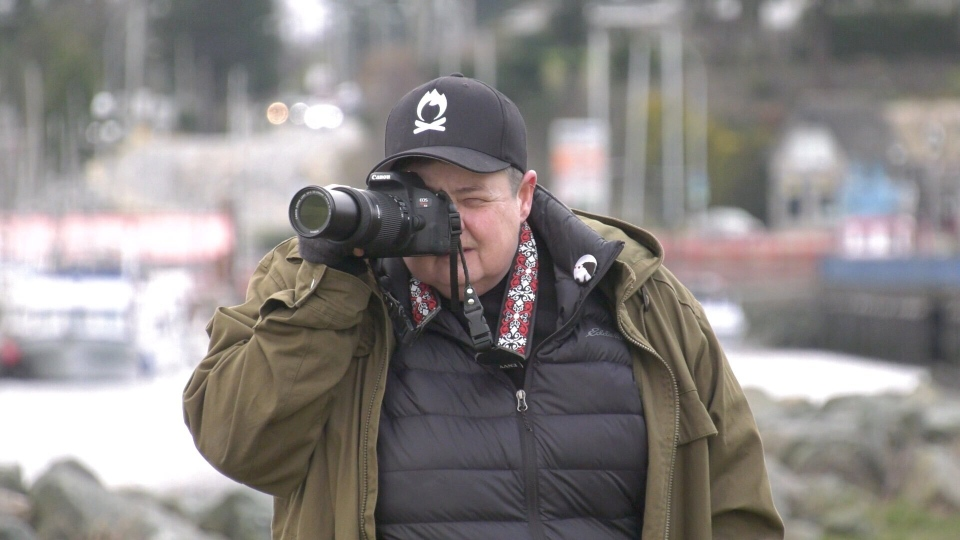 Colleen Wilson, the Crowtographer, is pictured: (CTV News)