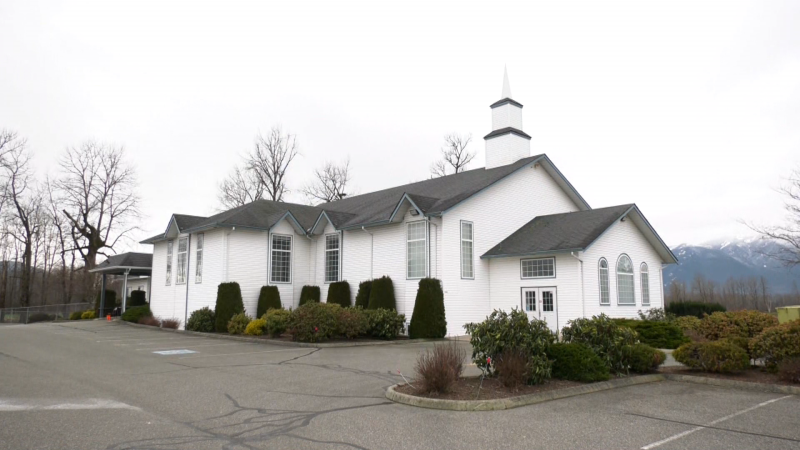 The Free Reformed Church in Chilliwack is pictured.