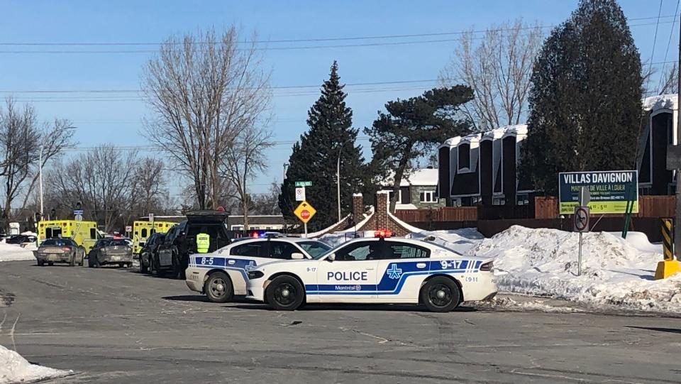 Police barricade in DDO