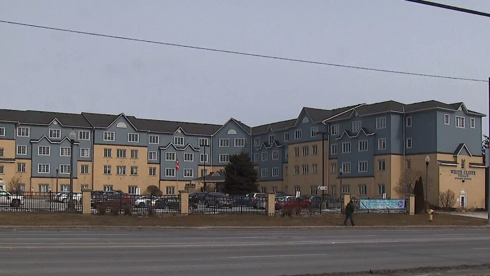 Police say they are investigating after door handles were removed off the suites of residents who tested positive for COVID-19 at a retirement home in Courtice, Ont.