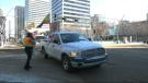 Edmontonians protest the Ethiopian government on Feb. 13.