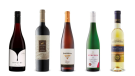 Imagery Estate Winery Pinot Noir 2019, La Celia Elite Malbec 2015, Inniskillin Reserve Riesling 2014,  Familie Steffen Trittenheimer Altärchen Riesling Kabinett Trocken 2018, Lenz Moser Prestige Beerenauslese 2017