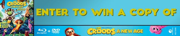 The Croods: A New Age on Blu-Ray Contest