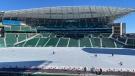 Iceville at Mosaic Stadium (Gareth Dillistone / CTV REGINA)