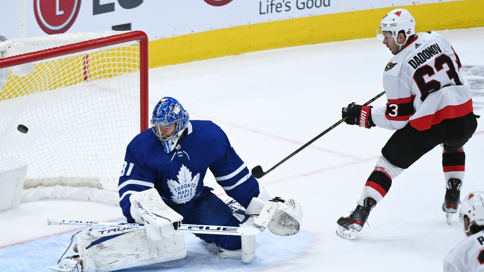 Ottawa Senators vs. Toronto Maple Leafs