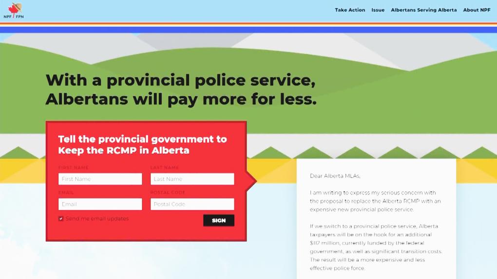 Keep Alberta RCMP
