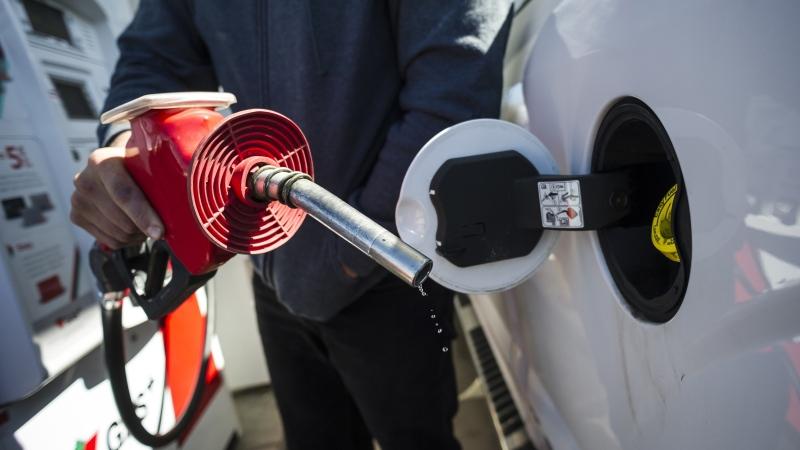 There is a big jump at the pumps in the Maritimes heading into the weekend.