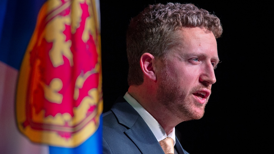 Nova Scotia Premier Iain Rankin says a rent increase cap put in place during the pandemic will stay in place as long as housing is scarce. (THE CANADIAN PRESS/Andrew Vaughan)