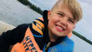 Four-year-old Jett Reis was admitted into Jim Pattison Children's Hospital on Feb. 1 after experiencing headaches and neck pain.