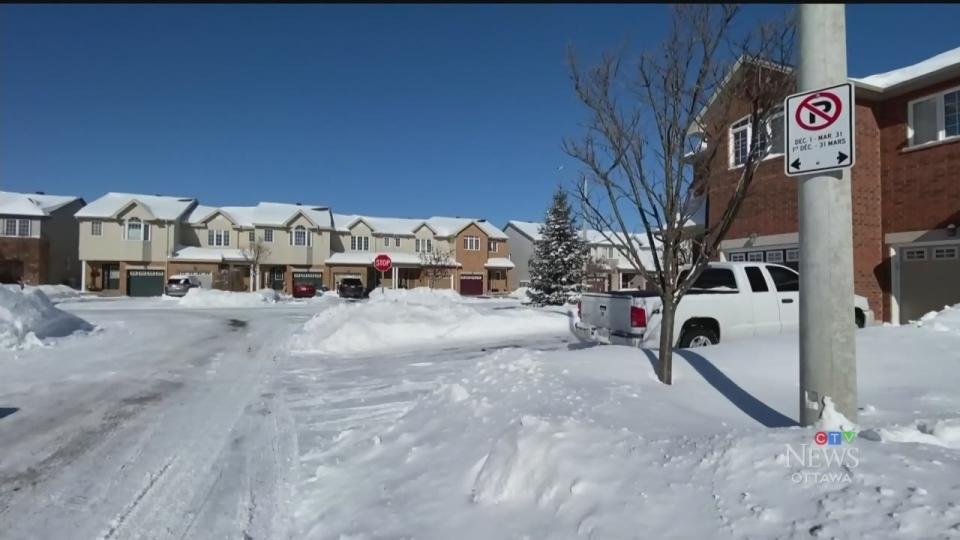Ottawa winter parking ban