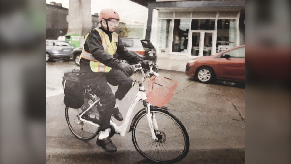 Eric Mold told CTV News the electric bicycle is his primary mode of transportation because he has two artificial hips and knees, which makes walking painful. (Eric Mold)