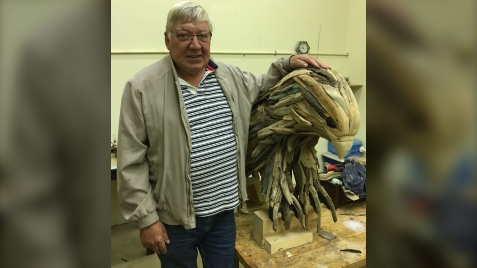 Doug Arthur, 75, was a skilled wood carver