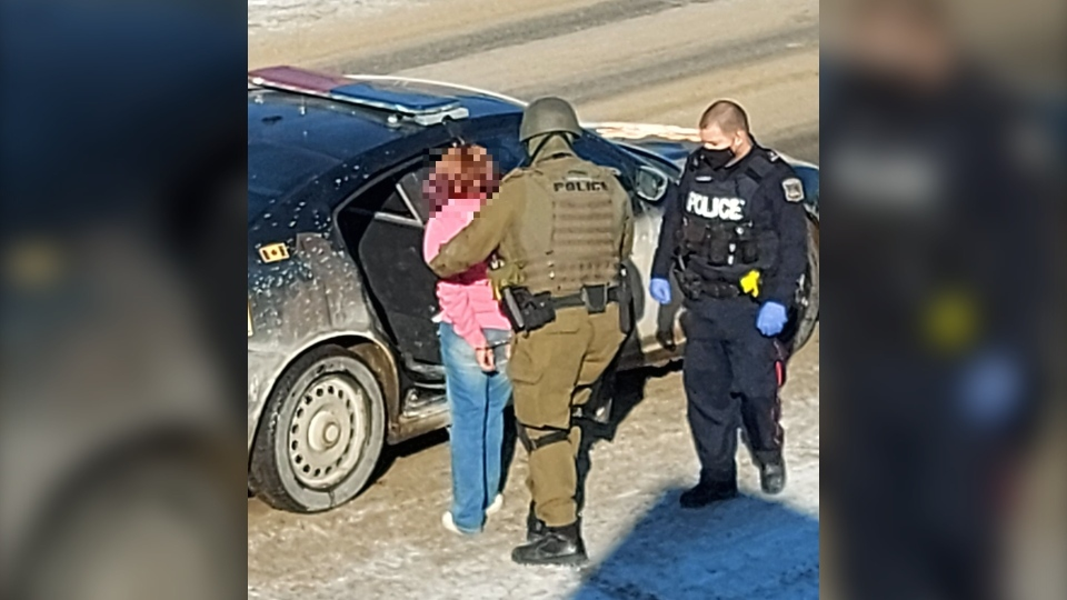 Timmins officers took seven people into custody