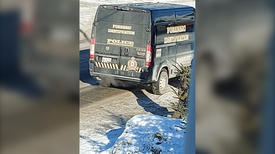 Timmins police's forensic identification unit