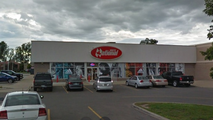 National Sports store at 3051 Legacy Park Dr. in Windsor, Ont. (Courtesy Google Maps)