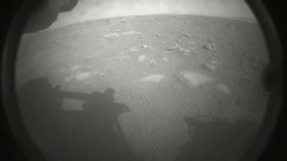 First images from NASA's Perseverance rover