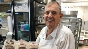 Natale Bozzo, the founder of SanRemo Bakery and Cafe in Toronto's west end, has died after contracting COVID-19, his family says. (Instagram:@sanremobakery)