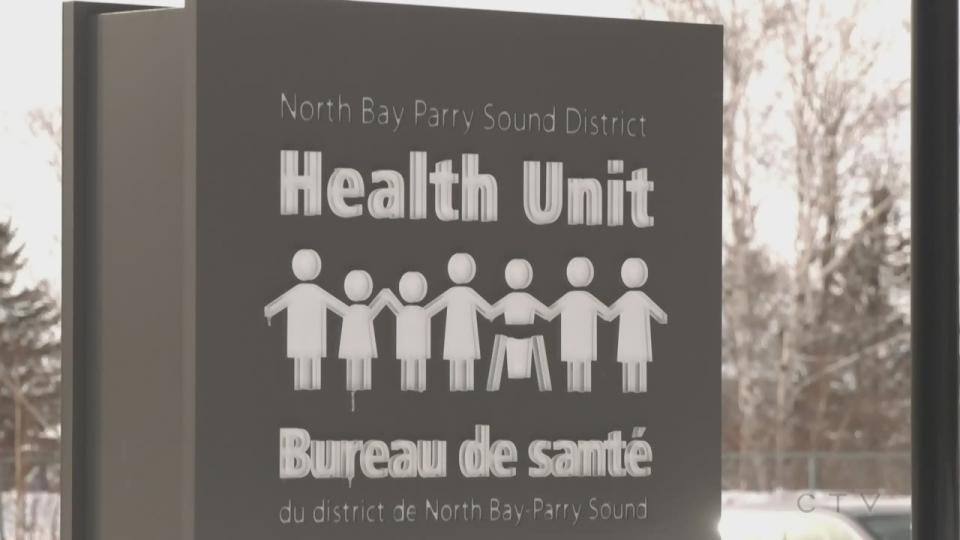 North Bay Health Unit online naloxone training